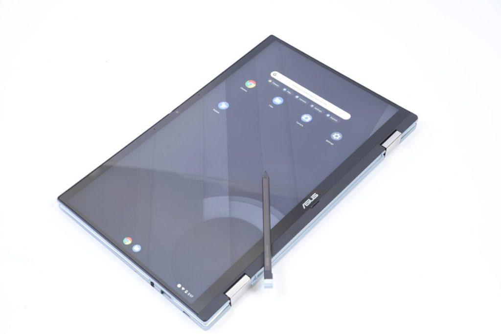 Chromebook Flip提供了多種使用模式,配合觸控屏幕可滿足不同場景。