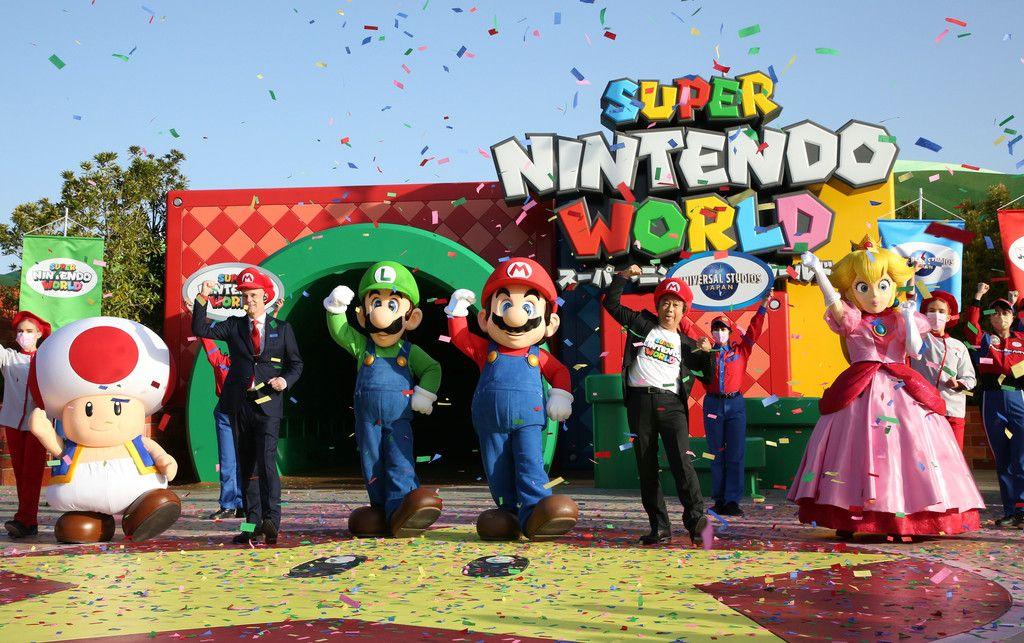 USJ 與任天堂合作的 Super Mario World 園區今年 3 月開幕。