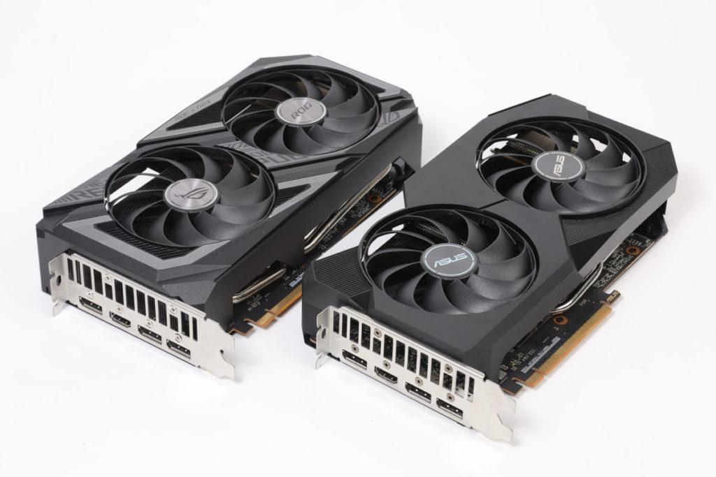 ASUS Dual RX 6600 (下)與 ROG Strix RX 6600 XT OC 的比較,兩者是否有幾分相似呢?