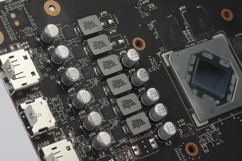 6 相供電採用 Dr. MOS 高性能晶片