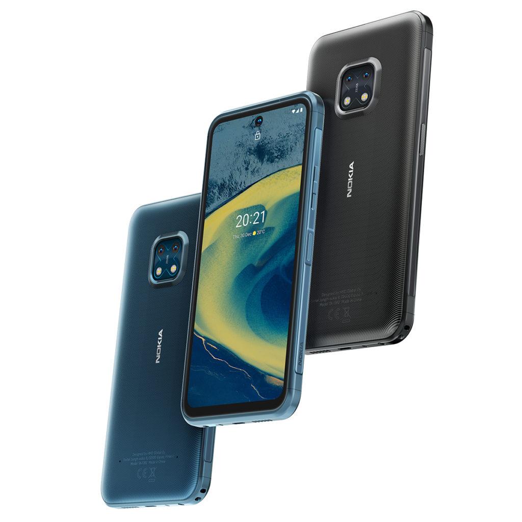 Nokia XR20,在本港會推出 6GBRAM + 128GB ROM版本,定價 $4,198,唯僅推出炭黑色款。