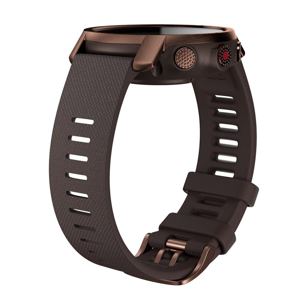 Polar Grit X Pro 錶帶則轉用更舒適耐用的 FKM 物料。