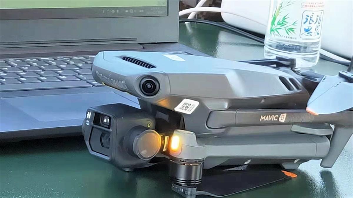 網傳 Mavic 3 會有雙鏡頭,並備有頂級航拍功能。