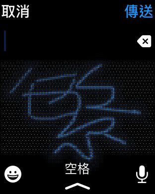 雖然可以用手寫輸入繁體中文,但是在小屏幕上寫多筆劃的字始終有點辛苦。